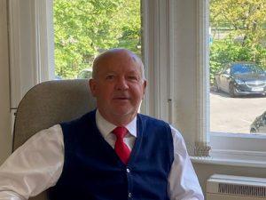Paul John, accountant in Weston-super-Mare